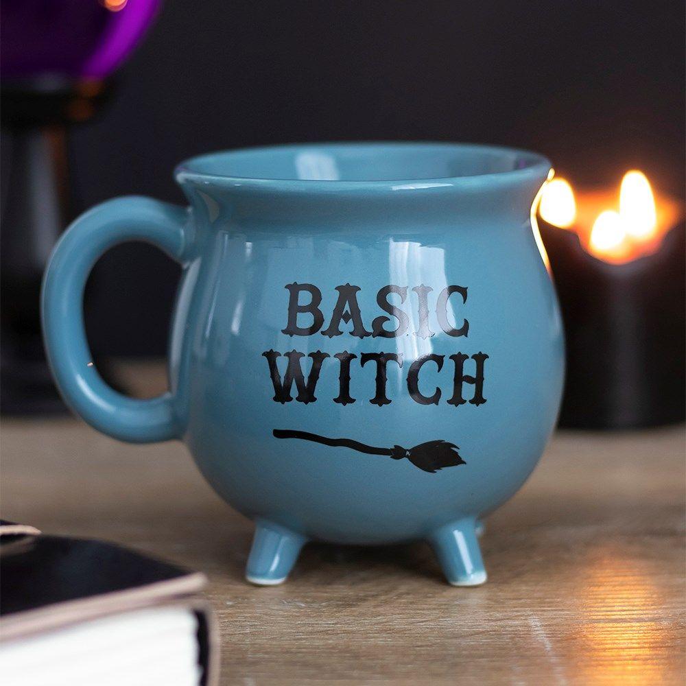 Cauldron Mug, Basic Witch