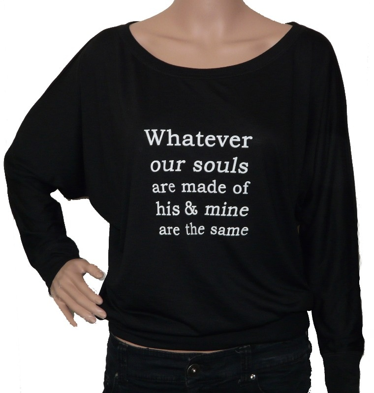 whatever our souls wuthering heights long tee copy