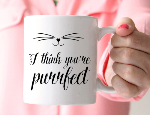 Purrfect Cat Mug