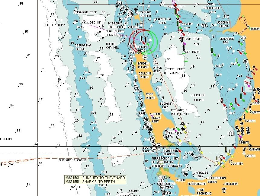Fishing Charts and Navionics Perth
