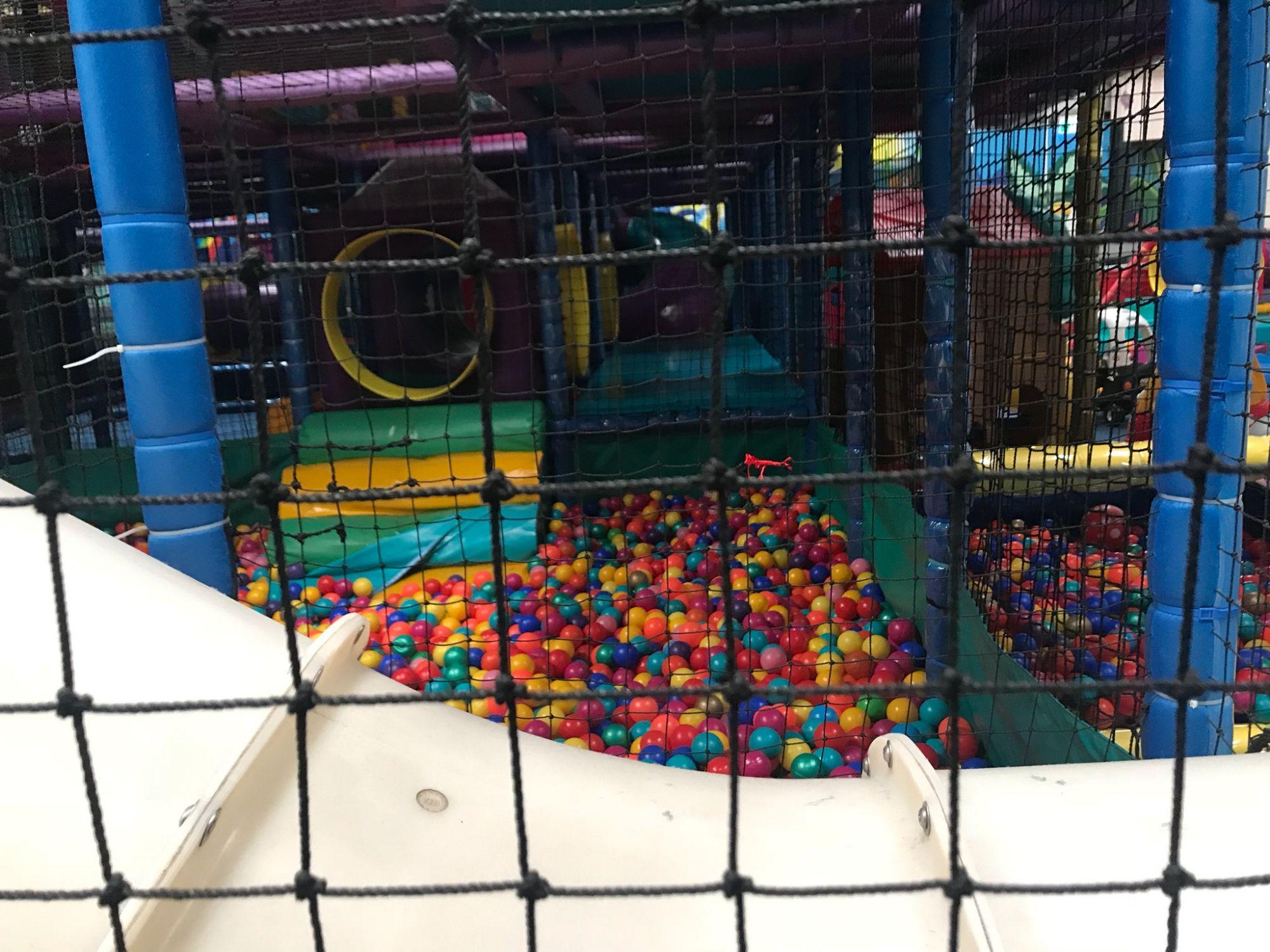 Playground Safety Netting - Diamond Networks