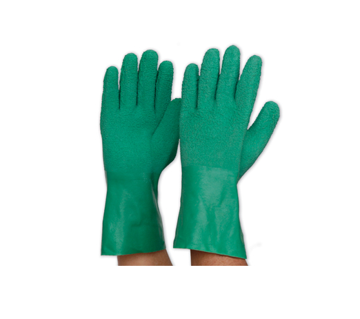 Green Latex Fishing Gloves For Sale in Perth, Western Australia