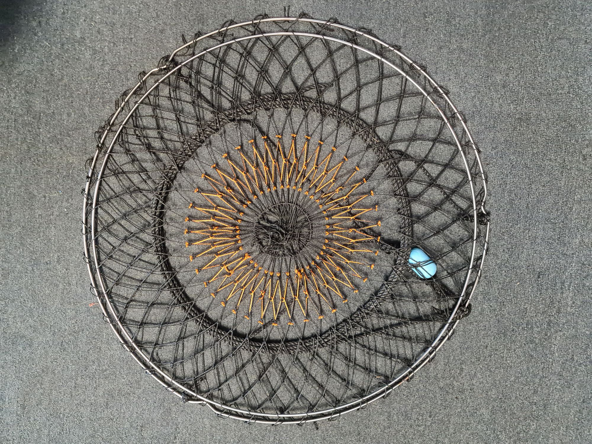 75cm Stainless Steel Crab Nets with luminous eye For Sale Perth