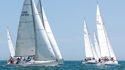 Go out sailing with a sailing experience on the south coast of England
