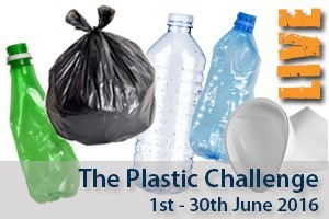 Sign up for the Plastic Challenge this June