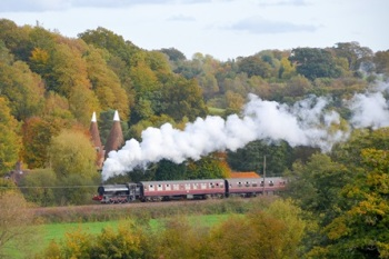 Steam Train Trip on the Spa Valley Railway and Afternoon Tea for Two