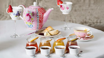 Gin and Jam High Tea for Two in Mayfair