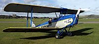 Give someone special a ride in a Tiger Moth in Sussex