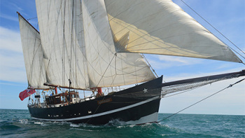 Red Letter Days have a number of tall ships experiences in Dorset