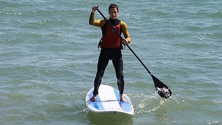 Stand up Paddleboarding, Hove, East Sussex