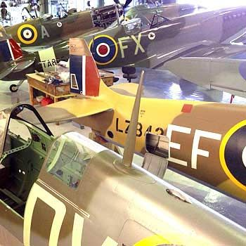 VIP Spitfire Tour at Biggin Hill in Kent