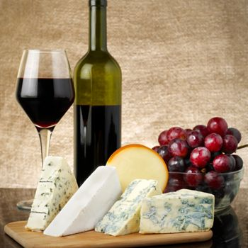 Matching Cheese and Wine for Two