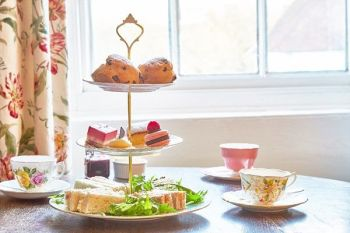 Vintage Sussex Afternoon Tea with Fizz for Two at The Spread Eagle Hotel and Spa