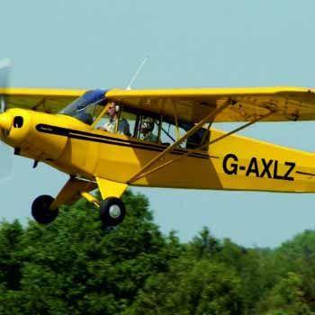 Piper Cub Flight