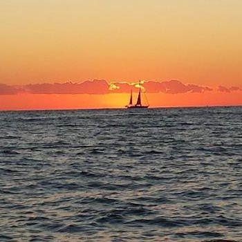 Sunset Sailing in Brighton