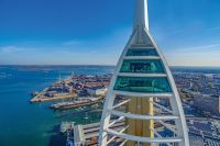 Visit the Emirates Spinnaker Tower in Portsmouth and enjoy Afternoon Tea for two