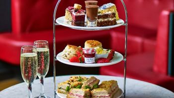 Afternoon Tea for Two with Fizz at Café Rouge