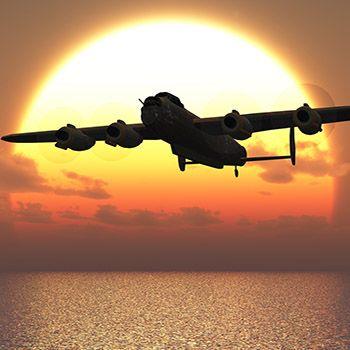 Lancaster Bomber Flight Simulator
