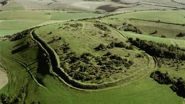 Get some fresh air at Cissbury Ring