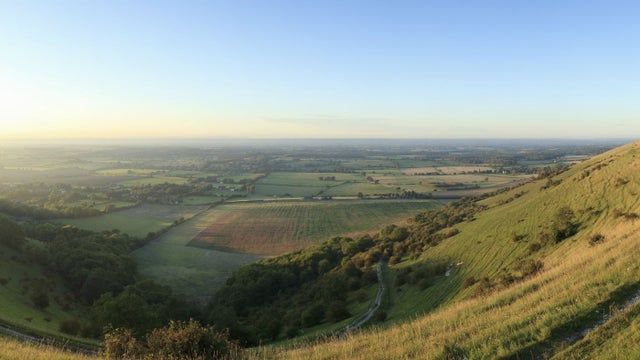 Take in the views from the South Downs