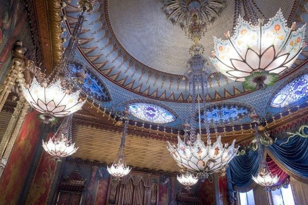 Take in the flamboyant interior of the Royal Pavilion