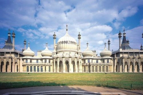 The Brighton Royal Pavilion is one of Brighton's landmarks