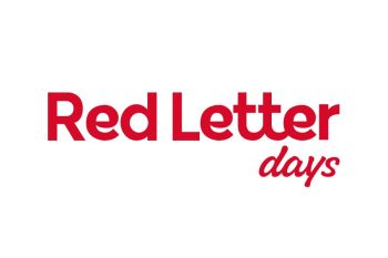 Get 15% off at Red Letter Days!