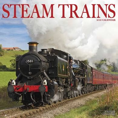 Chuff chuff!  All abroad!  The CalendarClub.co.uk have some great rail calendars for 2021 - take a look here