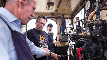 Day Behind the Scenes of Kent and East Sussex Railway