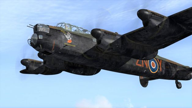 30 Minute Lancaster Bomber Flight Simulator Experience for One at Perry Air