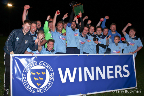 Celebration 4 Sussex FA cup