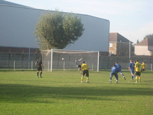 Hole scores against Shoreham