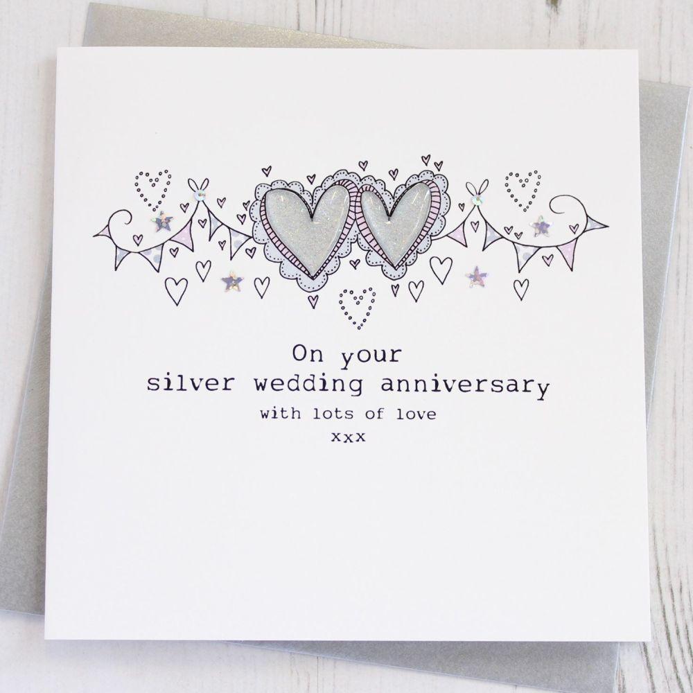 Happy Silver Wedding Anniversary