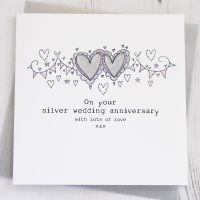 <!-- 012 -->Happy Silver Wedding Anniversary