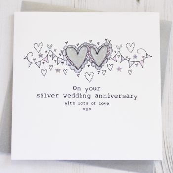 Happy Silver Wedding Anniversary