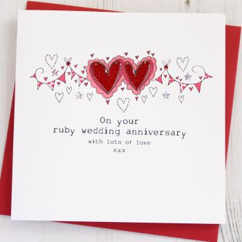 Happy Ruby Wedding Anniversary