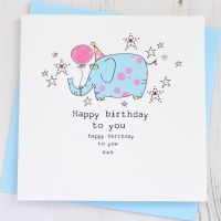 <!-- 020 --> Happy Birthday Elephant