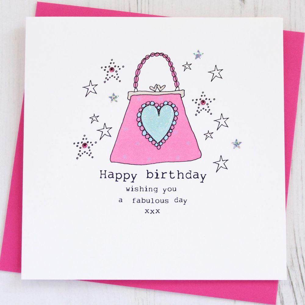 Happy Birthday Handbag