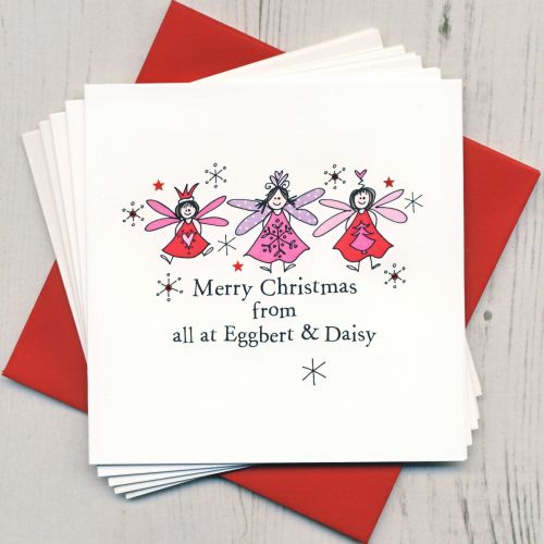 Personalised Christmas Fairy Cards
