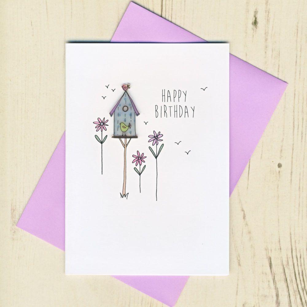 Happy Birthday Birdhouse