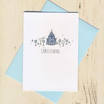 Boy's Christening Card