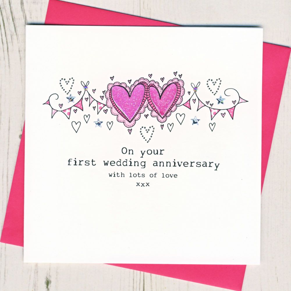 Happy First Anniversary