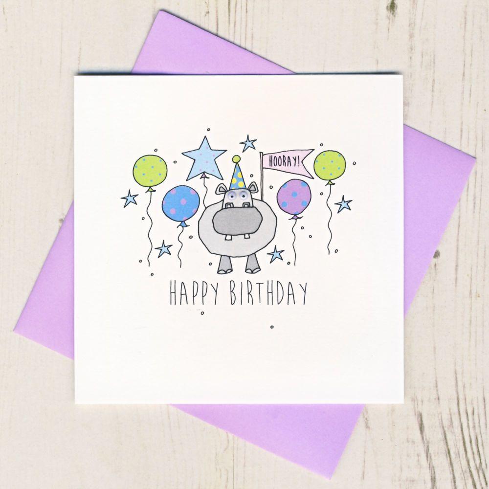 Happy Birthday Hippo