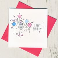 <!-- 022 --> Happy Birthday Sheep