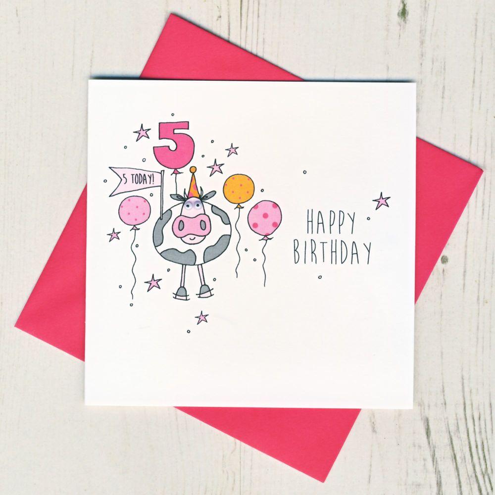 Happy 5th Birthday Cow