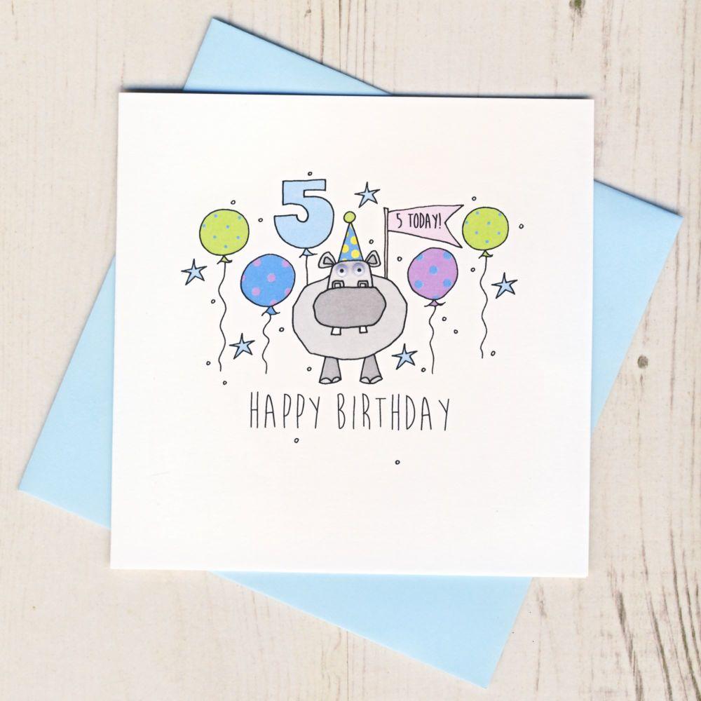 Happy 5th Birthday Hippo