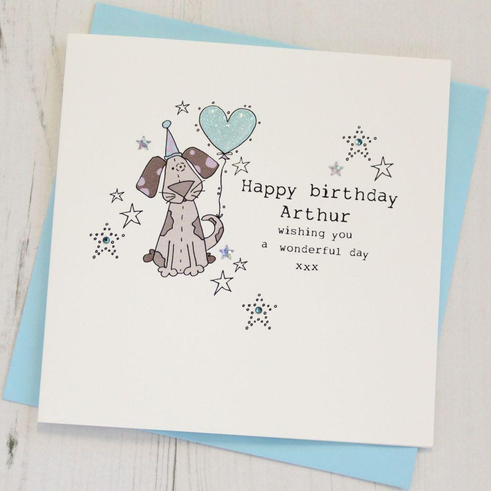 Personalised Dog Happy Birthday