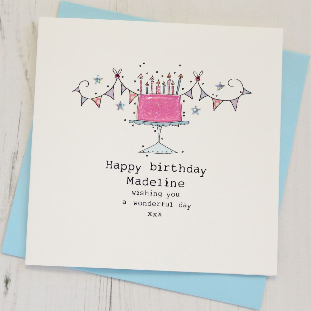 Personalised Cake Happy Birthday