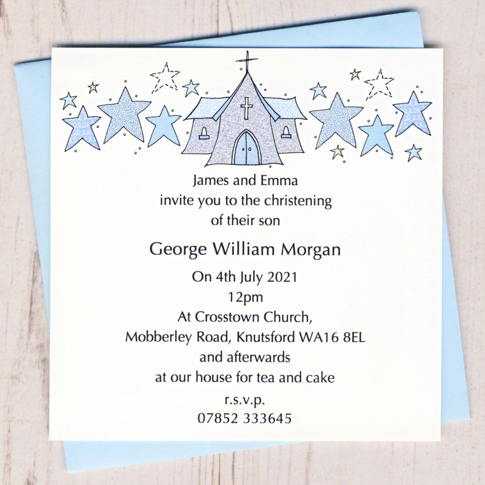 Christening Stationery
