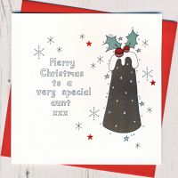 <!-- 002-->To A Very Special Aunt Christmas Card